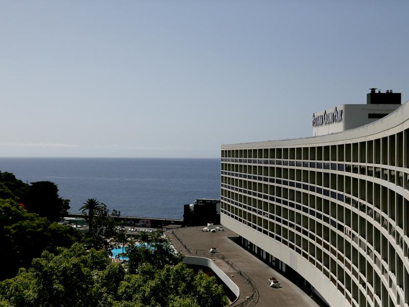 Nicht mehr so taufrisch: Das Casino Parkhotel